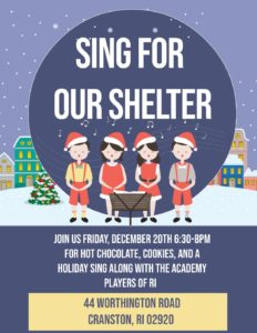 Sing for Our Shelter